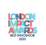 London Impact Awards Logo - Best Innovator Award - The Ben Kinsella Trust 2020